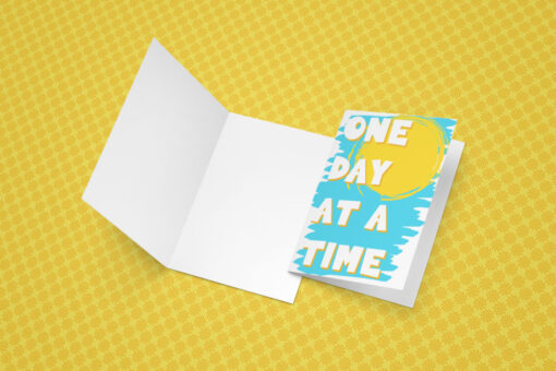 One Day at a Time Recovery card