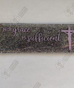 His Grace is Sufficient Christian Bookmark